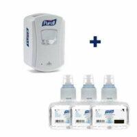 Purell Foam LTX hand sanitiser bundle